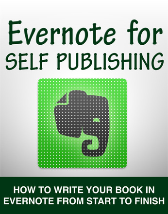 ebook cover for evernote for self publishing, available on kindle store