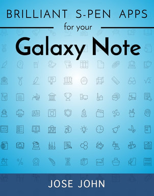 ebook cover for Brilliant S-Pen Apps for Your Galaxy Note