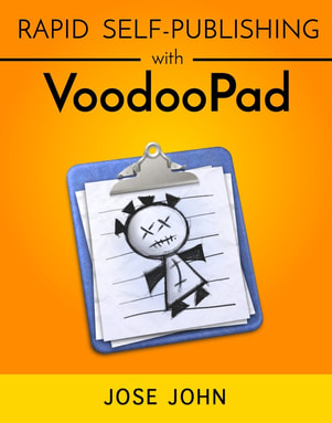 ebook cover for Rapid Self-Publishing with VoodooPad
